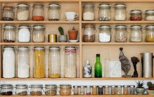 organizing a small kitchen