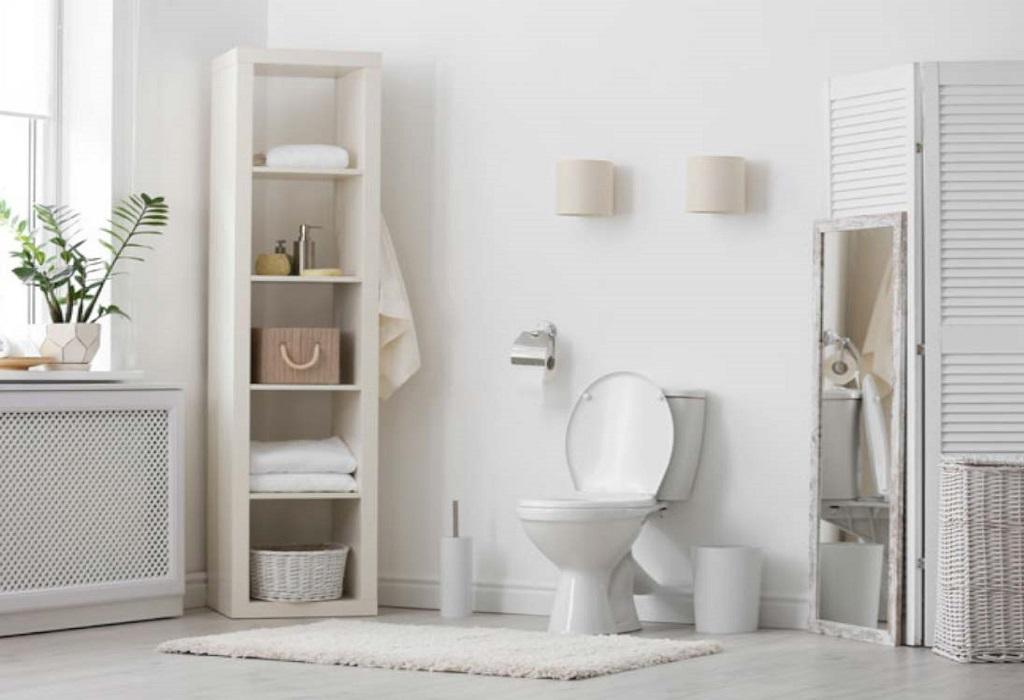 unblock a badly blocked toilet